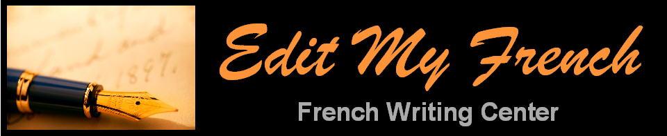 Edit My French